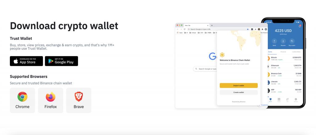 Instalace Bitcoin peněženky TrustWallet