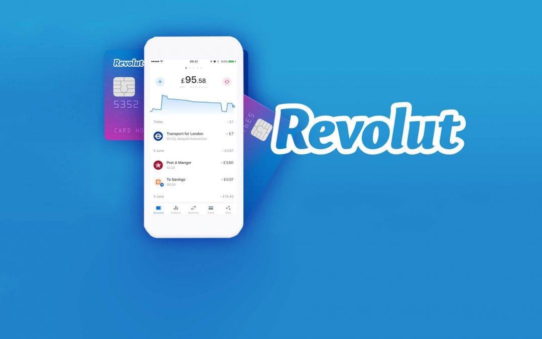 Náhledový obrázek aplikace Revolut