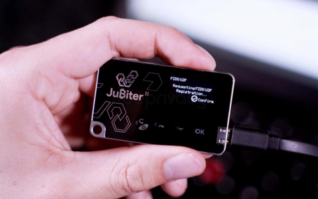 Hardwarová peněženka Jubiter Blade II – Recenze