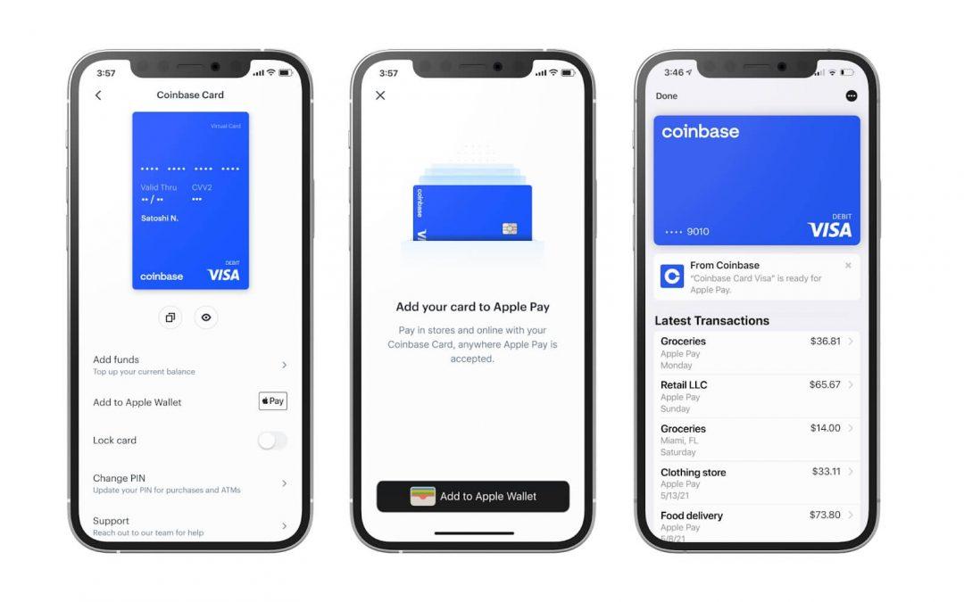 Coinbase card cover