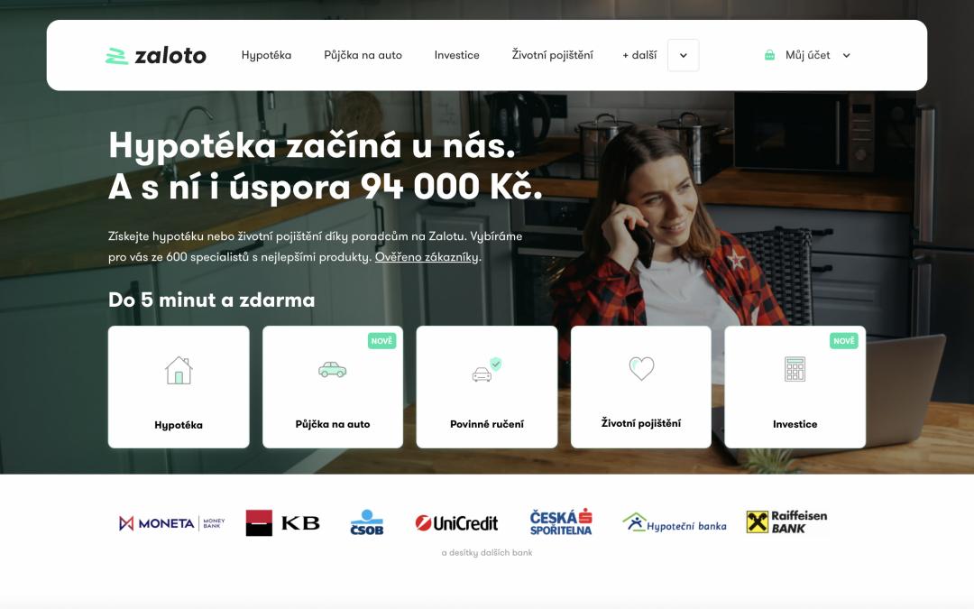 Zaloto - homepage